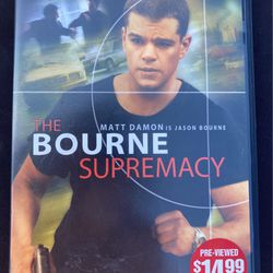 The Bourne Supremacy for Sale in Humble,  TX