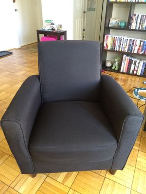 Black Armchair for Sale in Washington, DC