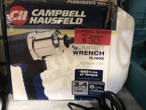 Campbellhausfeld 1/2 impact wrench for Sale in Washington, DC