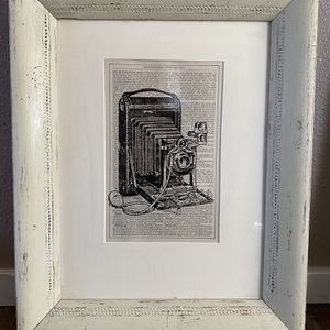 Vintage Art Print Of Camera for Sale in Clackamas, OR