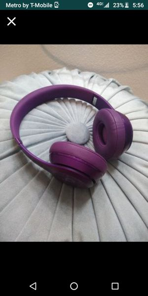 Wired purple beats!! I NEED THEM GONE for Sale in El Paso, TX