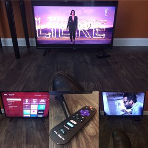 "32"" TCL ROKU SMART TV for Sale in Dallas, TX"
