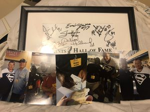 12 Autographs from the Saints Hall of Fame for Sale in Madison, MS