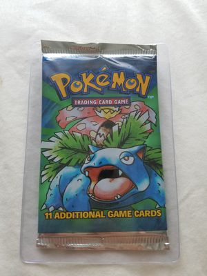 Pokemon Base Set Booster Pack - Weighed Light for Sale in Old Mill Creek, IL