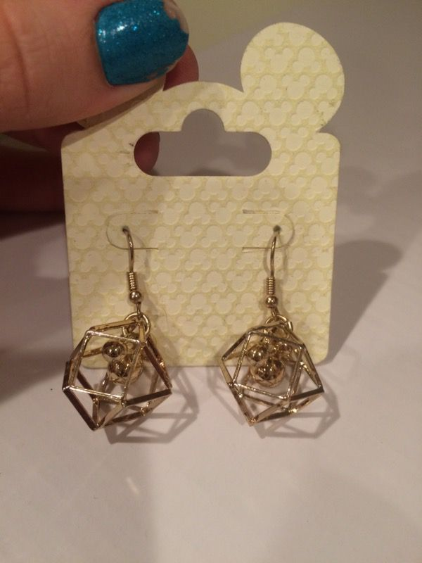 Mickey Mouse earrings from Disneyland