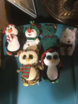 Christmas Beanie baby's for sale for Sale in Toms River, NJ
