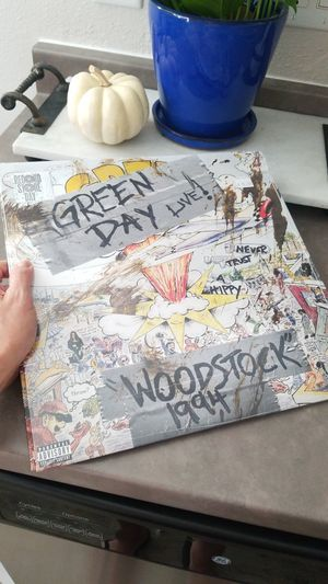 Brand New Sealed Green Day Live Woodstock 1994 Record for Sale in La Mesa, CA