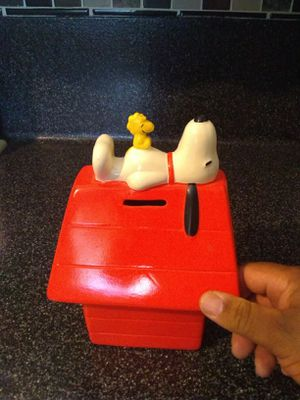 Snoopy coin bank for Sale in Irwindale, CA