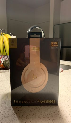 Beats Studio 3 Wireless- Desert Sand for Sale in Tampa, FL