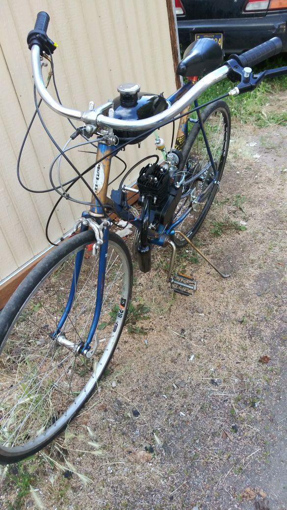 Schwinn motorized bike