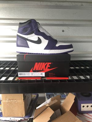"Nike Air Jordan 1 ""Court Purple"" sz 13 for Sale in Columbia, SC"