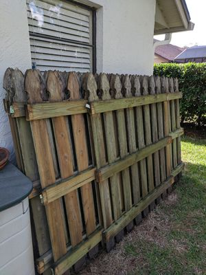 Wood fence for Sale in Union Park, FL
