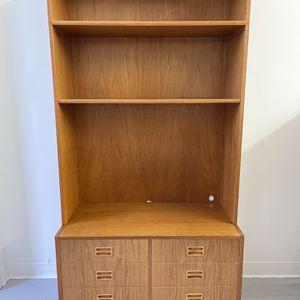 Vintage Mid Century Modern Danish Cabinet Storage Hutch Seattle for Sale in Seattle, WA