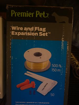 Wire and flag expansion set for Sale in Vidalia, GA