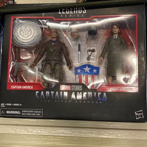 Marvel Legends Captain America /Peggy 2pack for Sale in San Diego, CA