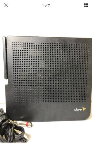 Ubee DVW3201B Wireless Wi-Fi Cable Modem Router & Power cord for Sale in Garland, TX