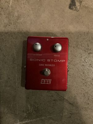 Bbe sonic stomp guitar pedal. for Sale in Fairview Park, OH