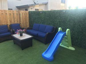 Artificial Hedge Plant Green Panel Garden Backyard / Artificial grass for Sale in Miami, FL