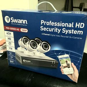 swann professional HD security system-1080P pro series for Sale in Hialeah, FL