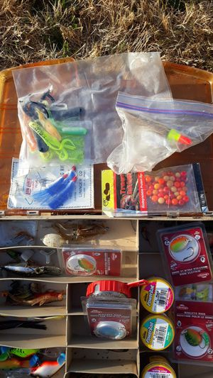 Nice lot of fishing supplies for Sale in Shoreline, WA