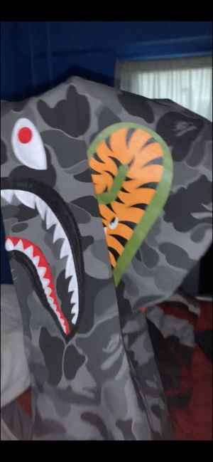 BAPE ABC Camo Shark Full Zip Hoodie Black for Sale in New York, NY