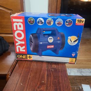 Ryobi P730 Air Compressor Inflator Tire Matress 18v Volt Bare Tool for Sale in White Plains, NY