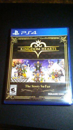 Kingdom hearts the story so far for Sale in San Bernardino, CA