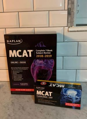 Mcat books edition 2018-2019 for Sale in Miami, FL