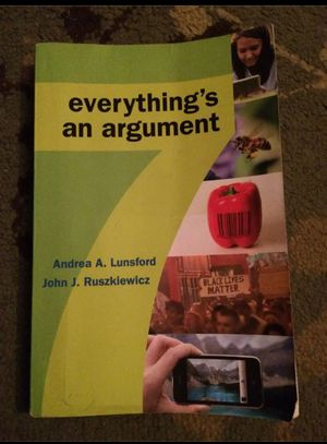 Everything's an Argument by Keith Walter - College Textbook for Sale in Milnesville, PA