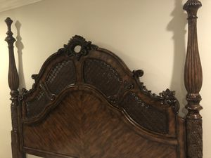 Antique bed and armoire , very good condition for Sale in Costa Mesa, CA