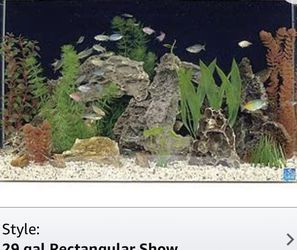 28 Gallon Acrylic Aquarium Tank for Sale in San Jose,  CA