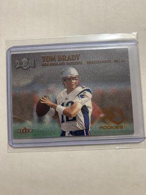 Tom Brady metal fleer rookie card for Sale in Odessa, TX