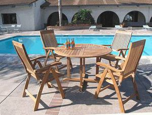 Teak table dining table set for Sale in Fountain Valley, CA