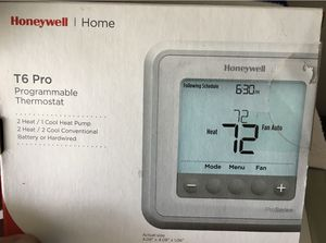 Honeywell T6 Pro Programmable Thermostat for Sale in Winter Park, FL