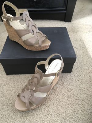 Tan Wedge Heels (Size 8) for Sale in Silver Spring, MD