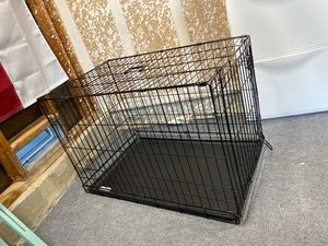 Large folding dog crate for Sale in Carlsbad, CA