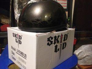 Skid lid half shell motorcycle helmet for Sale in Gresham, OR
