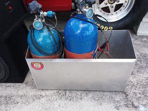 N.O.S. bottles,high flo valves for Sale in Boca Raton, FL
