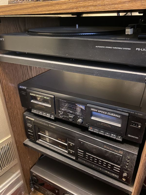 Record, CD and Tape Player