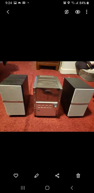 Panasonic book shelf compact 5 cd stereo for Sale in Chicago, IL