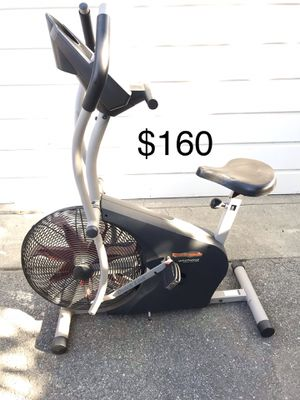 ProForm stationary bike elliptical exercise machine fitness cross trainer cycle for Sale in Monrovia, CA