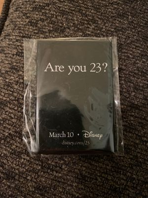 Disney D23 pin for Sale in Portland, OR
