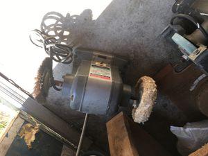 Air compressor, grinding wheel, polisher wheel, table saw. for Sale in Royal Oak, MI
