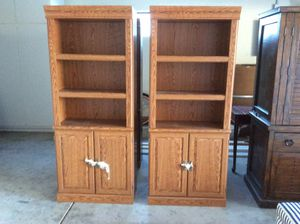 Moving Dad Estate Sale! Everything must go! LIKE NEW! Four Wayfair bookcases. for Sale in Las Vegas, NV