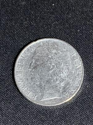 100 lire italiana (1956) rare coin for Sale in Greenstone, PA