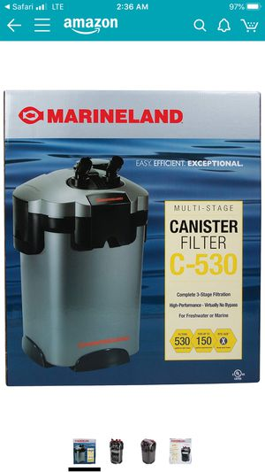 Marlineland C-530 Aquarium Canister Filter for Sale in Falls Church, VA