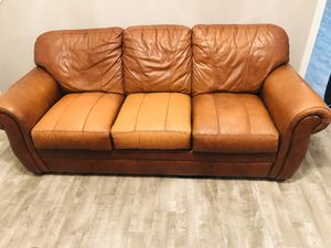 Leather Living room furniture for Sale in Raleigh, NC