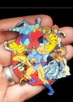 Thundercats 80s Cartoon Toy Jumbo Enamel Pin for Sale in Rancho Santa Margarita, CA