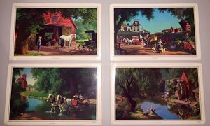 Paul Detlefsen Art Photo Placemats for Sale in Mount Vernon, OH