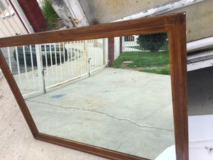 Beautiful wall mirror 49 x 35 for Sale in Colton, CA